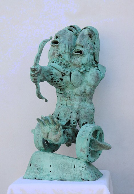 Urartian Siamese Warrior, an art piece by Arman Hambardzumyan - image 1
