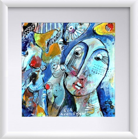 Abstraction 21, an art piece by Gor Avetisyan - image 1