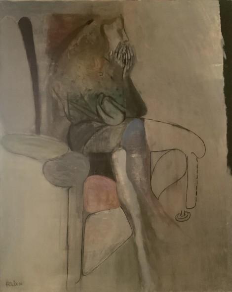 Portrait of the Artist's wife, an art piece by Felix Yeghiazaryan - image 1