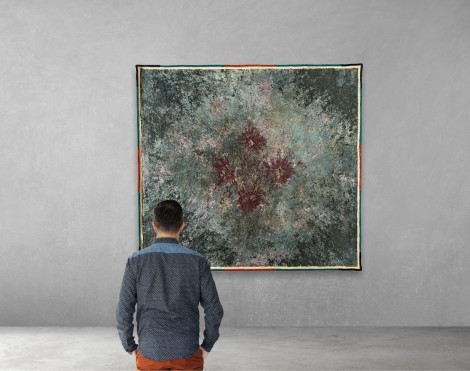 Background radiation within rugs 2, an art piece by Hrachya Vardanyan - image 1