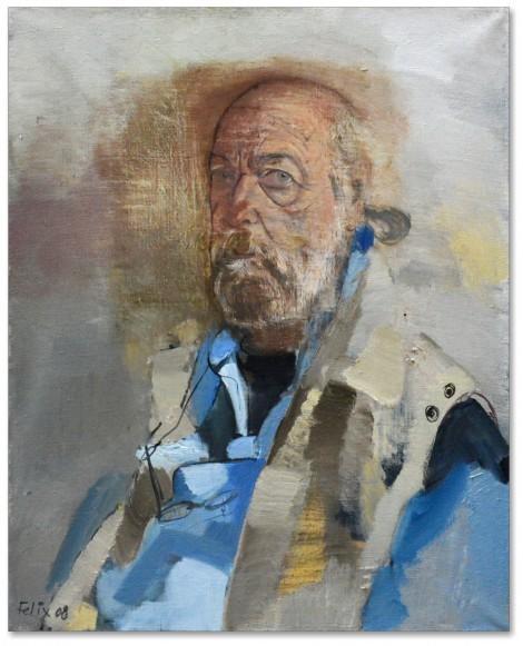 Selfportrait, an art piece by Felix Yeghiazaryan - image 1