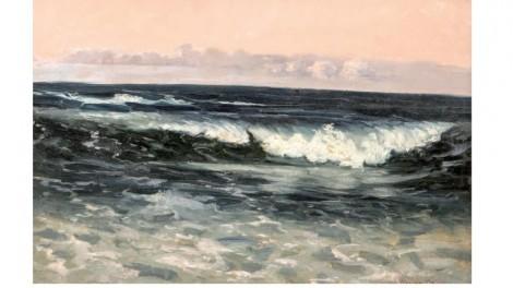 The Wave, an art piece by Wartan Mahokian