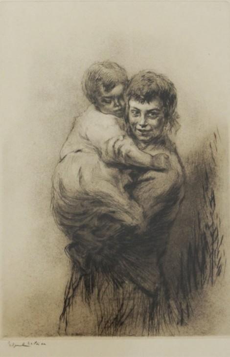 Venise - la sœur aînée, an art piece by Edgar Chahine (1874-1947) - image 1