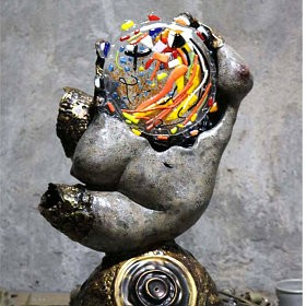 A Girl From Groningen, an art piece by Arman Hambardzumyan