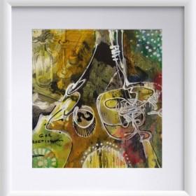 Abstraction 09, an art piece by Gor Avetisyan