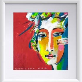 Abstraction 16, an art piece by Gor Avetisyan