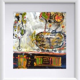 Abstraction 14, an art piece by Gor Avetisyan