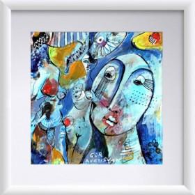 Abstraction 21, an art piece by Gor Avetisyan