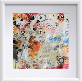 Abstraction 24, an art piece by Gor Avetisyan