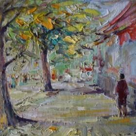 Promenade, an art piece by Arayik Asatryan