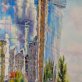 Reflection, an art piece by Igor Pron