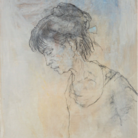 ADELITA AU PROFIL, an art piece by Jean Jansem (1920 – 2013)