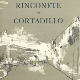 Miguel de Cervantes - Rinconète and Cortadillo |, an art piece by Jean Jansem (1920 – 2013)