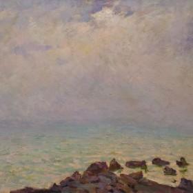 Misty sea, an art piece by Tsolak Azizyan