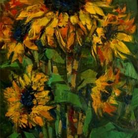Sunflowers, an art piece by Serjo Maltsev