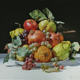 Still Life With Quince, an art piece by Igor Pron