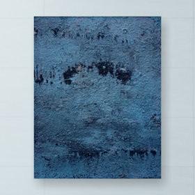 Blue hour, an art piece by Hrachya Vardanyan