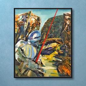 Lonely Knight, an art piece by Van Soghomonyan