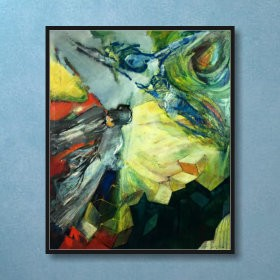 Meeting, an art piece by Van Soghomonyan