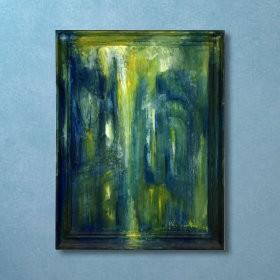 Rain in Paris, an art piece by Van Soghomonyan