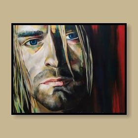 A Tribute to Kurt Cobain, an art piece by Gor Avetisyan