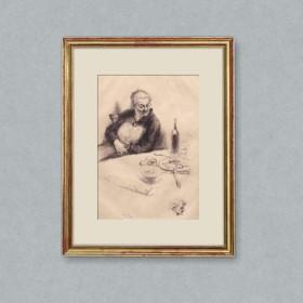 Print by Edgar Chahine, an art piece by Edgar Chahine (1874-1947)