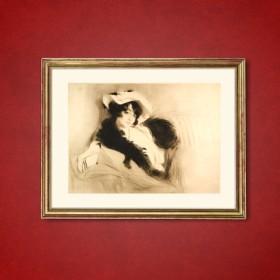 Elvira, an art piece by Edgar Chahine (1874-1947)