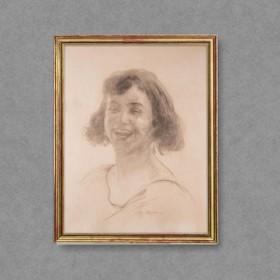 Lara Smiling, an art piece by Edgar Chahine (1874-1947)